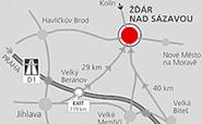 Troma spol. s r.o. - mapa