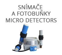 Snímače a fotobuňky Micro Detectors